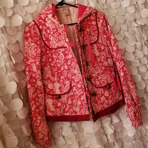 Anthropologie elevenses button up jacket 6 coat